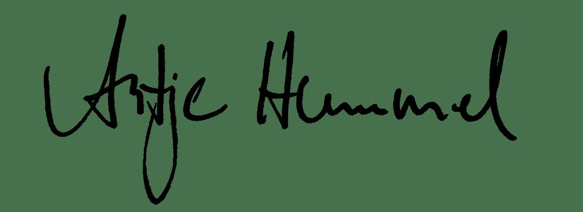 Unterschrift Antje Hummel